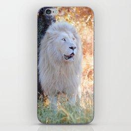 White king iPhone Skin