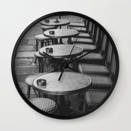 Paris Streets Wall Clock
