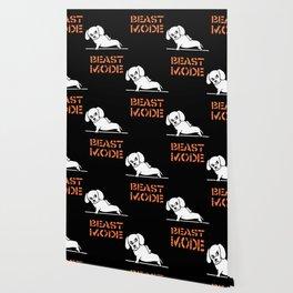 Beast Mode Dachshund Wallpaper