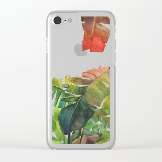 The Jungle vol 5 Clear iPhone Case