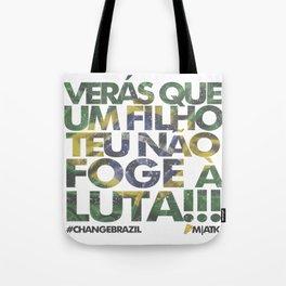 #ChangeBrazil Tote Bag