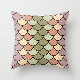 Beach Palette Throw Pillow