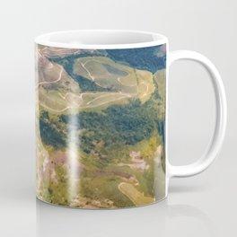 Land from the sky Coffee Mug