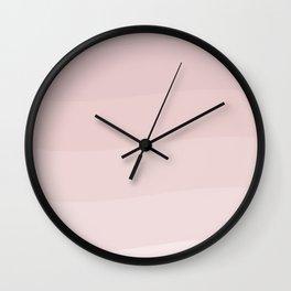 Pink wave. Wall Clock