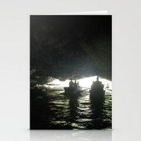 vietnam Stationery Cards featuring Vietnam Cave by Lili Lash-Rosenberg