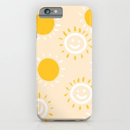 happy sunshine iPhone Case