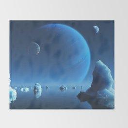Caerulea Throw Blanket