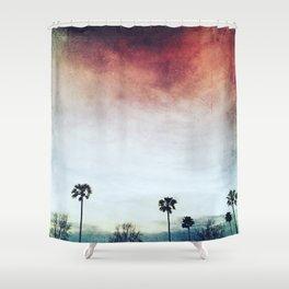 threes Shower Curtain