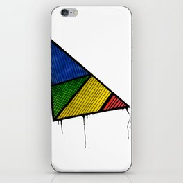 Borderline Triangle iPhone Skin