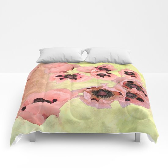 Poppy fever Comforters