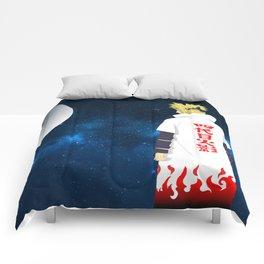 Futher of Uzumaki Naruto Minato Namikaze Comforters