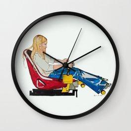 Gamer Gurl Wall Clock