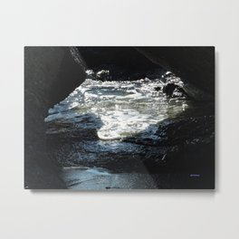Laguna Beach Surf on the Rocks #1 Metal Print