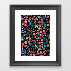 brilliant pebbles Framed Art Print