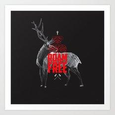 Roam Free Art Print
