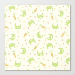 cute dots Canvas Print