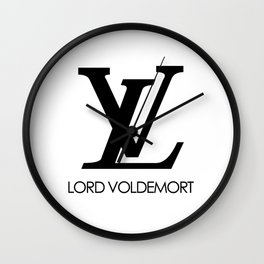 lord voldemort LV Wall Clock