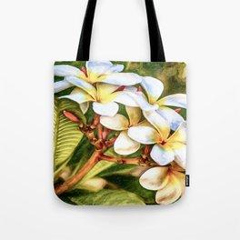 Plumeria Tote Bag