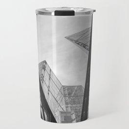 London City Girders and Tall Finance Buildings Travel Mug