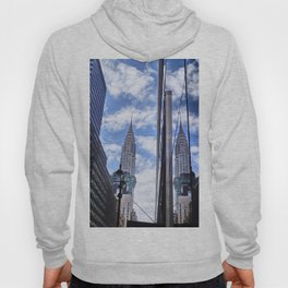 Chrysler Building Reflections in Midtown Hoody