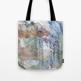 behind a feather tree Tote Bag