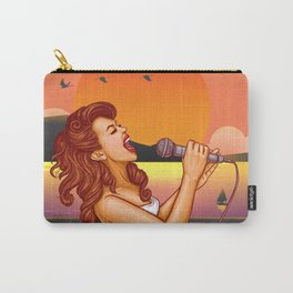 Singer in the beach Carry-All Pouch