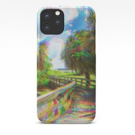 Trippy Walkway iPhone Case