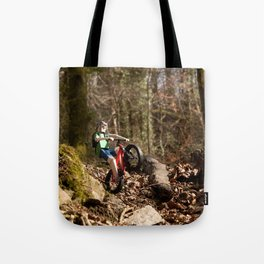 Where we're going we don't need roads Tote Bag