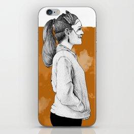 Masked Runner iPhone Skin