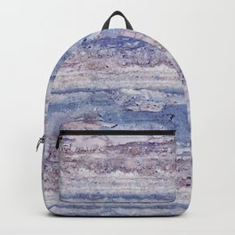 Blue lilac marble Backpack
