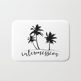 Intermission - On Holiday with Palm Trees Bath Mat