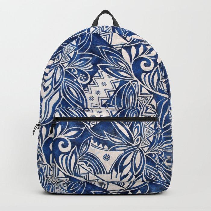 Hawaiian tribal pattern II Backpack