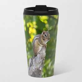 Chipmunk on a Tree Travel Mug
