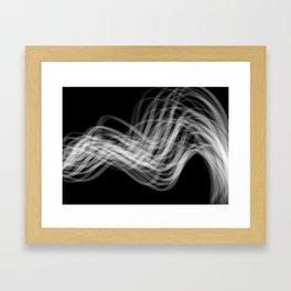 Linear Flow2 Framed Art Print