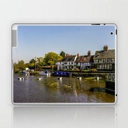 Tudor homes along River Avon. Laptop & iPad Skin