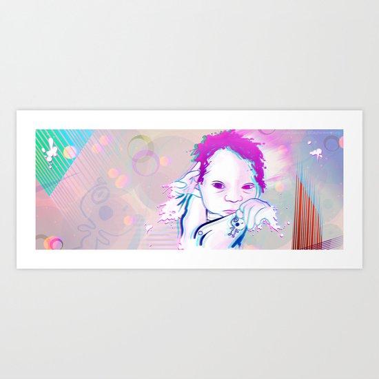 New Born Sphere Art Print