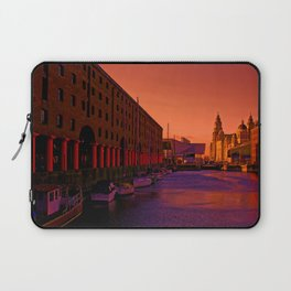 Albert Dock And the Pier Head Laptop Sleeve