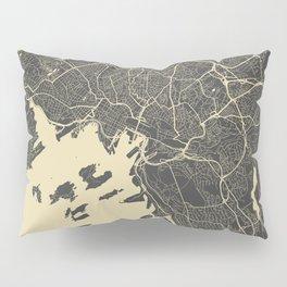 Oslo Map Pillow Sham