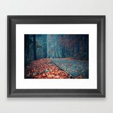 Vanish Into Small Framed Art Print