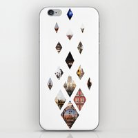calendars iPhone & iPod Skins featuring Diamante by Delphine Comte