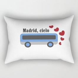 madrid , cielo Rectangular Pillow