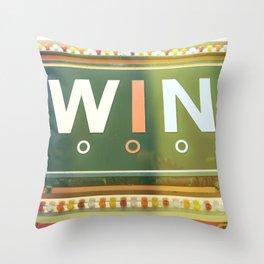 Win Throw Pillow