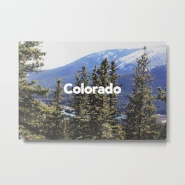 Colorado, Pikes Peak Metal Print