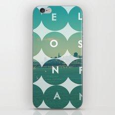 Hello Sanfrancisco iPhone & iPod Skin