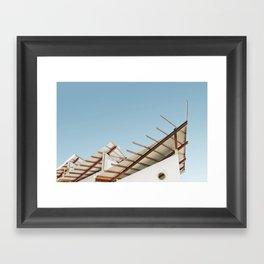 Curaçao - Konstrukshon II Framed Art Print