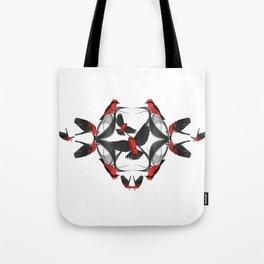 Vermilion Flycatcher Tote Bag