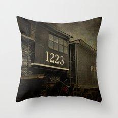 Orphan Train Throw Pillow
