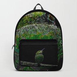 Tody Bird digital art Backpack