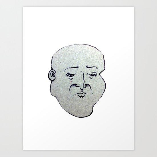 F A C E 1 Art Print