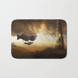 Endless Journey - steampunk artwork Bath Mat